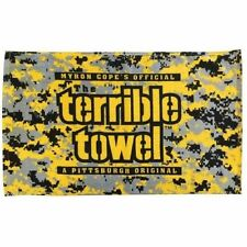 Pittsburgh Steelers Camouflage Original Terrible Towel Digital Camo Myron Cope