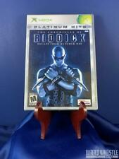 The Chronicles of Riddick Escape From Butcher Bay Complete Tested Xbox Original