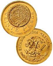 Random Date Mexico 20 Pesos Gold Coin .4823 Oz AGW (AU-BU) SKU29284