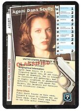 1996 The X-Files CCG First Premiere set (4 Agent Suit Cards)