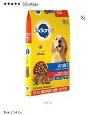 PEDIGREE Complete Nutrition Dry Dog Food Grilled Steak &Vegetable Flavor,20.4 lb