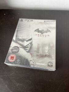 Batman Arkham City Steelbook Playstation 3 PS3 New Sealed