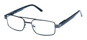 Mens Black Metal Designer Reading Glasses Readers +1.25+1.50+2.0+2.50+3.0+3.50