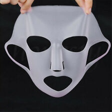 White Waterproof Silicone Face Moisturizing Mask For Sheet Mask Cover Skin Care