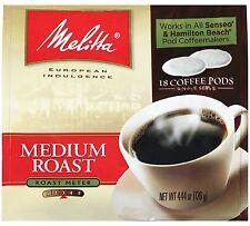 Melitta Medium Roast Soft Coffee Pods 18 Count Bag