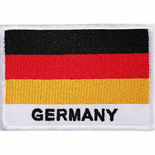 GERMANY Germany Flag Embroidered Iron On Shirt Backpack Rucksack Patch Badge