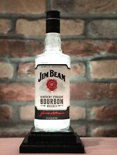 Jim Beam Bourbon Remote Control Color Change Man Cave Christmas Gift Bar Lamp