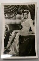 Actress RPPC Ann Sheridan Real Photo Post Card Vtg Pin Up Leggy Glamorous Pretty