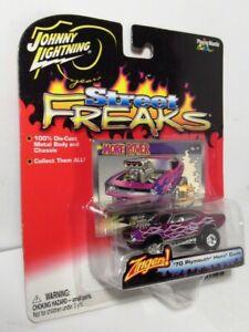 Johnny Lightning Street Freaks Zingers 70 Plymouth Hemi Cuda Mr More Power Purpl