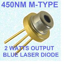 2w blue laser diode nichia M140 M-type 445nm 450nm  blue beam laser diode