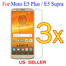3x Clear LCD Screen Protector Guard Cover For Motorola Moto E5 Plus / E5 Supra
