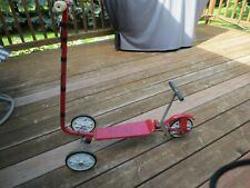 Vintage 1970's HONDA Kick N Go 3 Wheel Scooter RED Works Well RARE FIND