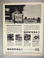 Montesa Motorcycle PRINT AD - 1965 ~~ Diablo, Impala Sport, Enduro