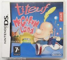 jeu TITEUF MEGA FUN LAND sur nintendo DS en francais game spiel juego enfant