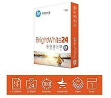 HP Printer Paper BrightWhite 24lb, 8.5x 11, 1 Ream, 500 Sheets, 203000R