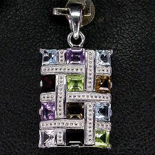 Topaz Heating Cluster Fine Necklaces & Pendants