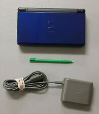 (Nintendo) Midnight Blue DS Lite + Stylus & Charger
