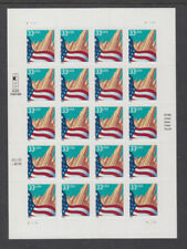 US #3278 Flag & City 33 Cents Complete Sheet of 20 Mint Never Hinged