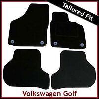 Volkswagen VW Golf Mk6 2008-2013 Tailored Carpet Car Floor Mats BLACK
