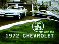 1972 Chevrolet Lead In Total Value - Dealer Promo Film MP3 format on CD