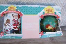 Precious Moments Box Set 1996 Christmas Coffee Cup Mug Ornament Enesco B012
