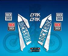 PEGATINAS HORQUILLA STICKERS FORK ROCKSHOX LYRIK  AM40  AUFKLEBER DECALS ADESIVI