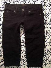 CITIZENS OF HUMANITY Womens AVEDON Black Jean Shorts Size 27 W30 L18