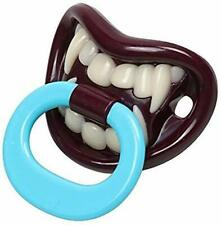 Vampire Dummy Pacifier Halloween Teething Funny Baby Present Teether Soother UK