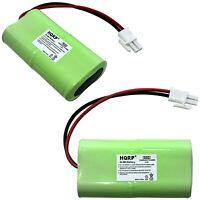 Paquet de 2 HQRP Batterie pour Moustique Aimant HHD10006 MM565021 MM3100 MM3300