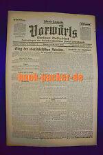VORWÄRTS (19. April 1920): Sieg der oberschlesischen Arbeiter