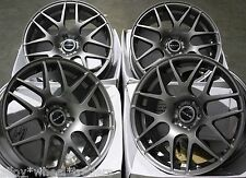 "ALLOY WHEELS X 4 17"" GM DARE X2 FOR LEXUS ES GS IS LS RC RX MODELS MAZDA 5 6"