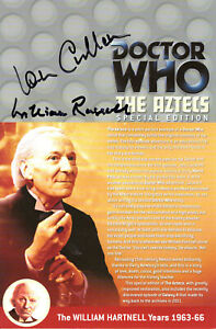 Doctor Who: THE AZTECS DVD Insert Signed (Various Autograph Options)