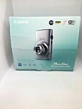 CANON PowerShot / ELPH 330 HS /10X Zoom WiFi 12.1 MP HD 1080P / Black  w Case