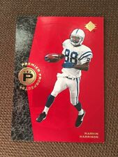 Marvin Harrison 1996 SP Authentic Rc COLTS