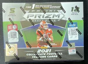 2021 Panini NFL Prizm Draft Picks Football Mega Box 22 GOLD ICE + 1 Auto QTY