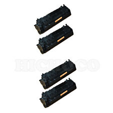 4 ct Toner Cartridge For CANON 104 imageCLASS MF4350d MF4370dn MF4690