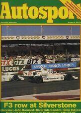 AUTOSPORT OTT 8th 1981 * ALFA ROMEO GTV 2.5 V6 testato *