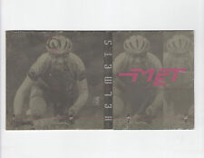 MET CYCLE HELMET BROCHURE - GALAXY / JETSTREAM / NIMBUS