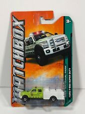 Ford F-550 Super Duty National Park Forest Service Lime Green 2012 MATCHBOX New