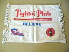 "MLB - Philadelphia Phillies - ""Fightin Phils Believe""  Rally Towel - SGA - NEW"