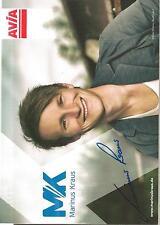 Autogramm AK Marinus Kraus Skisprung olympiasieger Sotschi 14 AVIA MK