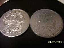 LOT OF 3  SILVER BIRD Casino Las Vegas Token For Free Slot Play, DIFFERENT STYLE