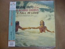 Cascading Voices of The Hugo & Luigi Chorus Let's Fall In Love CD (JAPAN) SEALED