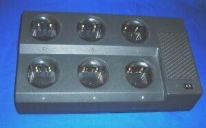 6 Bank Strong Metal Charger For Motorola#HNN9360/9628/9049/8148*GP300/350/P110..