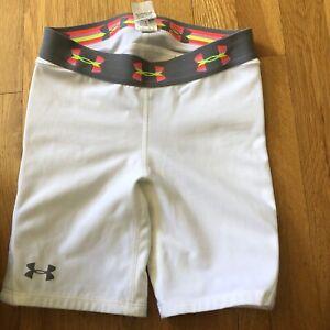 Under Armour Girls Softball Sliding Shorts Size XS