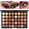Women Pearl Glitter Eye Shadow Powder Palette Matt Eyeshadow Cosmetic 40 Colors