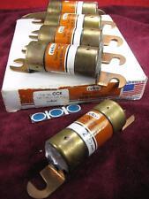 (5) Cefco CCK Fuses 125v or less Dual Element fuse 225 Amp