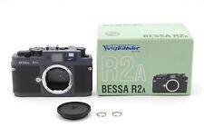 【Mint】Voigtlander Bessa R2A Gray 35mm Rangefinder Film Camera Body -#1918