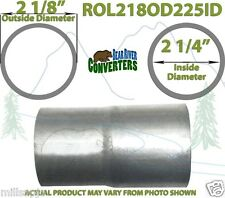 """2 1/8"""" 2.125"""" OD to 2 1/4"""" 2.25"""" ID Exhaust Component to Pipe Adapter Reducer"""