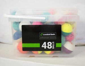 48 Ping Mix AAA Golf Balls *In a Free Bucket!*
